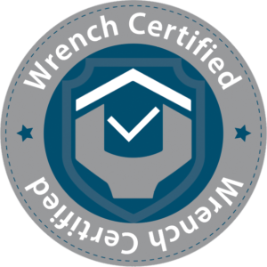 Wrench Certified logo