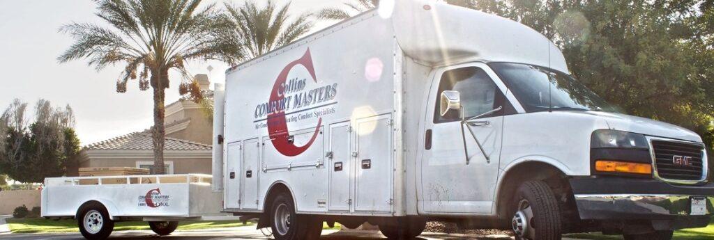 Collins Comfort Masters van